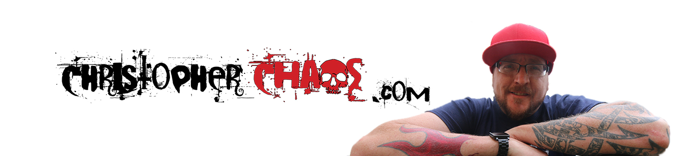 Christopher Chaos web site banner